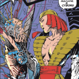In which Jim Lee does a pretty solid Barry Windsor Smith. (Uncanny X-Men #269)