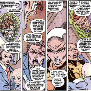 """""""Also can I draw on her face with a sharpie?"""" (New Mutants #96)"""