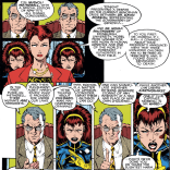When even Evil!Sexy Moira has better scientific ethics than you, you've got some thinking to do, Moreau. (Uncanny X-Men #271)