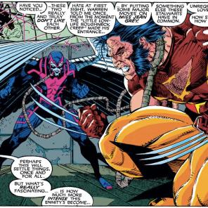 """Also, Nightcrawler had a ghost friend briefly."" (Uncanny X-Men #272)"