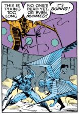 One of Hodge's more pronounced Mojo moments. (Uncanny X-Men #272)