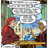 The X-Men, summed up in a single perfect panel. (X-Men #270)