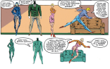 New Mutants: the ballet! (New Mutants #99)