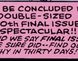 Just spitballing here, but is it maybe because... it's the final issue? (New Mutants #99)
