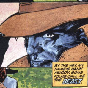 Beast goes hardboiled. (X-Factor: Prisoner of Love)