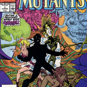 AND NOW FOR SOMETHING COMPLETELY DIFFERENT! (New Mutants Summer Special)
