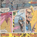 """""""Attack them with all your sound effects!"""" (New Mutants Annual #7)"""