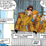 X-Factor's New Wave era was brief but distinctive. (X-Factor #69)