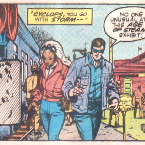 I absolutely do not believe that you did not see anyone unusual at a state fair. (The Uncanny X-Men at the State Fair of Texas)