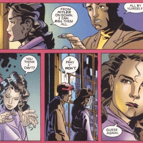 Don't fuck with Kitty Pryde. (X-Men: True Friends #3)
