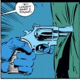 THAT IS A TERRIBLE WAY TO SHOW SOMEONE THE GUN YOU FOUND. (Wolverine #48)
