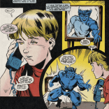 BEAST, NO. (Be X-Tra Safe With Blockbuster KidPrint and the X-Men)