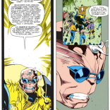 And yet, somehow, it's STILL better than Alex's M-Word speech 25 years later. (X-Factor #73)