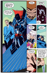 Meet the Nasty Boys! Also Senator Shaffran, but he's going to die soon, so, whatever. (X-Factor #75)