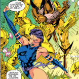 We are worried about Psylocke. (X-Men #1)