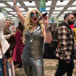 It's not a convention without at least one Dazzler!