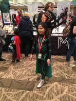 Closing with another non-X-Men costume, because this tiny Hela is amazing and we love her.