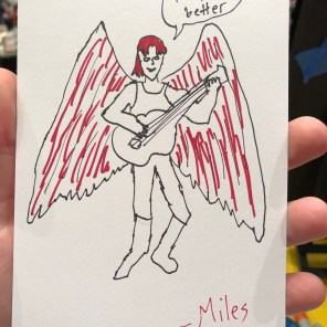 Icarus, by Miles