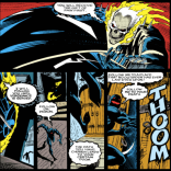 The two most dramatic men in New Orleans. (Ghost Rider #26)