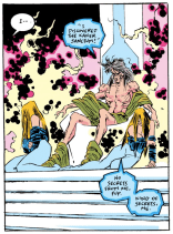 The Witness, in all his really creepy glory. (Uncanny X-Men #277)