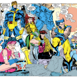 """Know what would be the worst, though? If we were all characters in a comic book."" (X-Men #11)"