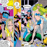 You got your 90s in my 90s! (Did you ever feel like a page was written and drawn especially for 10-year-old you?) (X-Factor #80)