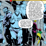 Those Stroman crowd scenes, though. (X-Factor #80)