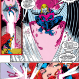 Everything about that last panel is solid gold. (Uncanny X-Men #293)