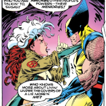 Yeah, Logan, don't get into a feels-off with Rogue. You won't win. (X-Men #13)