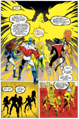 And then they went to space. For like a year. (Excalibur #52)
