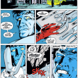 Spoiler: Kitty is cutting off his cast and it's itchy. (Excalibur #54)
