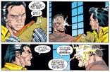 We forgot to mention this scene in the episode, but at one point, Garrison Kane is just randomly eating a fucking enormous sandwich. (Cable: Blood and Metal #2)