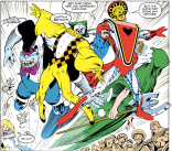 I love the Crazy Gang and very much want them to be happy. (Excalibur #54)