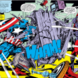 Jack Kirby: master of action! And of basically everything else! (Captain America Annual #4)