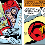 Strangely, this part didn't come up at Magneto's trial in Uncanny X-Men #200. (Captain America Annual #4)