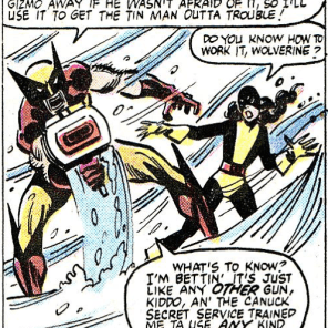 """I used to head to the target range after my Maritime Law classes!"" (Rom #18)"