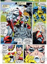 I'm glad that Colossus's Angst Landscaping has persevered. (X-Men #15)