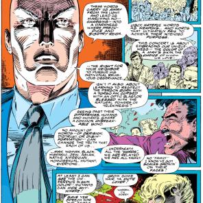 You know, sometimes Professor Xavier really isn't a jerk. (Uncanny X-Men #294)