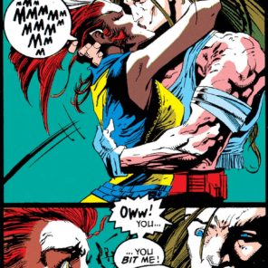 I mean, let's be real - that's pretty hot. (X-Factor #84)