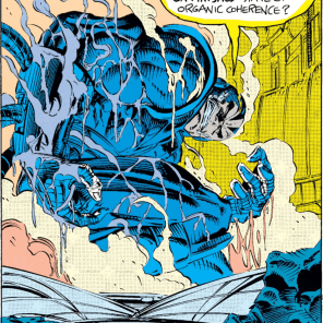 Apocalypse, you have got to turn your shower temperature down. That hot water is awful for your skin. (X-Men #14)