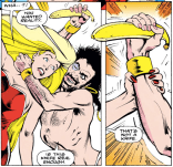 There's a Monty Python sketch about this. (Excalibur #56)