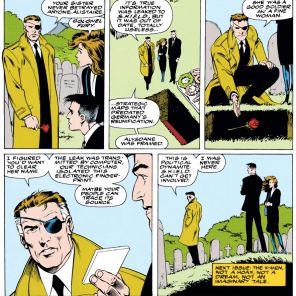 Too little, too late, Nick. (Excalibur #56)