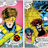 This is a ruse, except for the part about Cyclops's secret boot radio, because Cyclops is a nerd. (Excalibur #58)