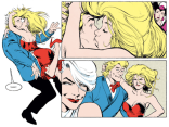 Alan Davis hair: expressive AND extra! (Excalibur #55)