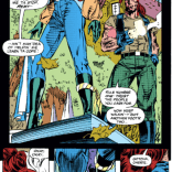 Ah, mistrust walks, a fundamental of teambuilding. (X-Men #17)