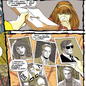 PROFESSOR XAVIER IS KIND OF CREEPY. (Uncanny X-Men #300)