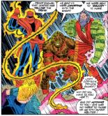 These villains are not wildly memorable. (Uncanny X-Men #300)
