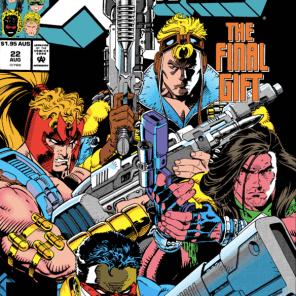 """The guns were inside you all along!"" (X-Force #22)"