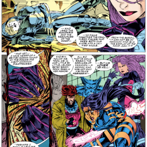 Betsy and/or Kwannon X-Plains Betsy and/or Kwannon. (X-Men #22)
