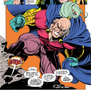 But he looks so happy about it! (X-Force #22)